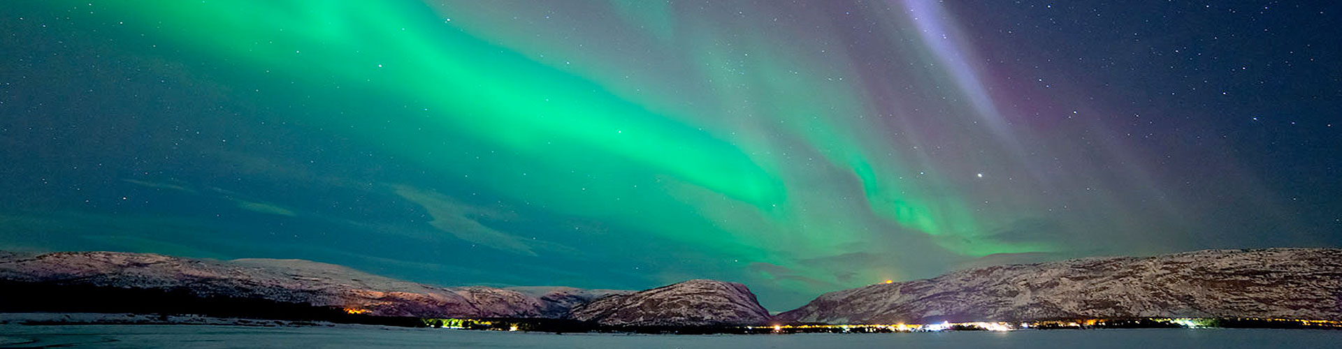 THE CITY OF NORTHERN LIGHTS - ALTA, NORWAY